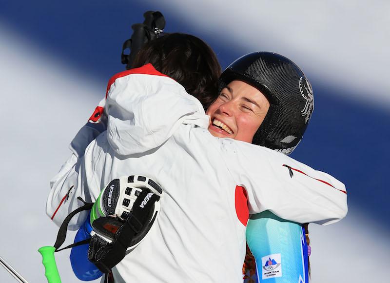 Nella discesa olimpica femminile oro per due: Dominique Gisin e Tina Maze! Bronzo Lara Gut, quarta Daniela Merighetti