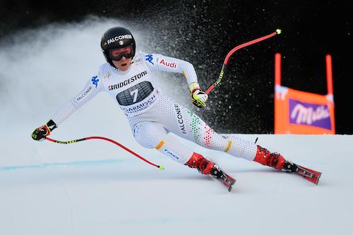 Sofia Goggia seconda anche nella discesa di Garmisch-Partenkirchen vinta da Stephanie Venier