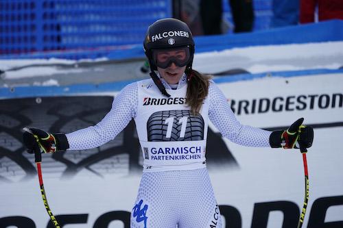 SuperG femminile di Garmisch-Partenkirchen LIVE! Lista di partenza e azzurre in gara