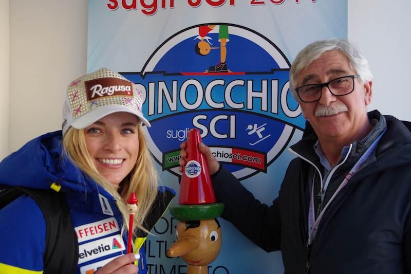 Presentato al Sestriere il 35° Pinocchio sugli Sci
