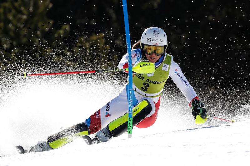 Slalom femminile delle finali di Soldeu, seconda manche LIVE!