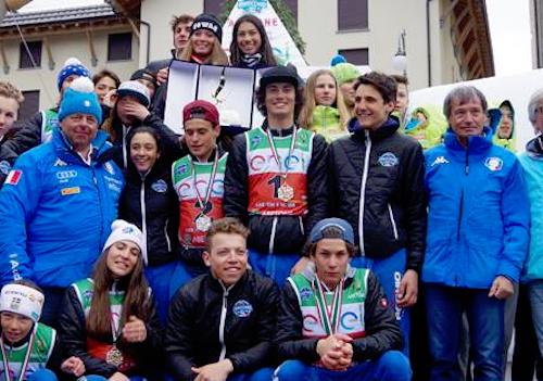 L'Italia domina le gare internazionali del 34° Pinocchio sugli Sci
