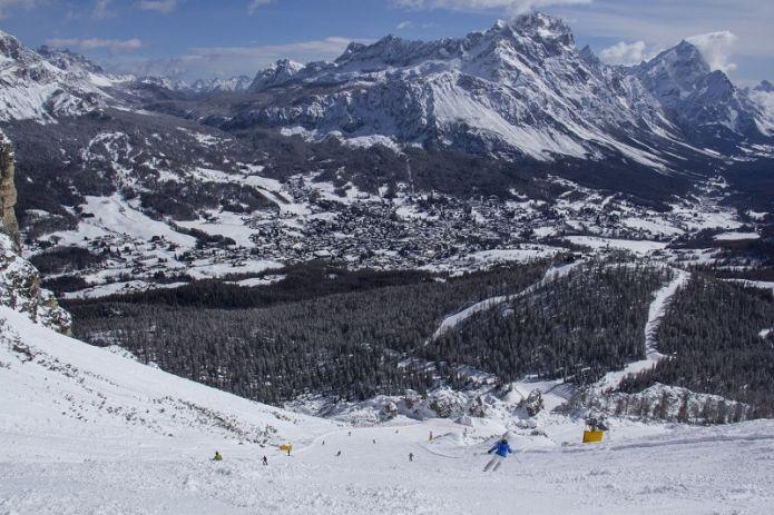 Riaprono gli impianti a Cortina d'Ampezzo