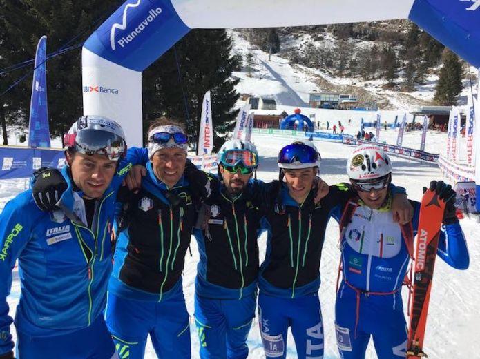 Italia a medaglia anche nelle staffette di chiusura dei Mondiali di sci alpinismo