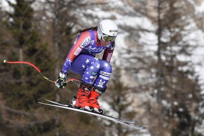 Breezy Johnson la più veloce nell'unica prova di Garmisch-Partenkirchen