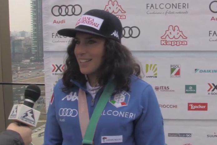VIDEO - Federica Brignone: 'Ho rischiato di saltare la stagione, soddisfatta di quello che ho fatto'
