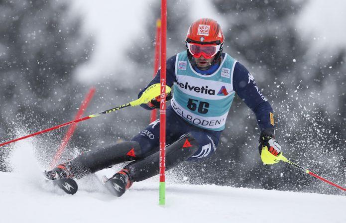 Cristian Deville quarto nel primo dei due slalom di Zakopane di Coppa Europa