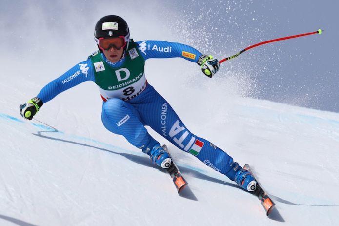 Le discesiste azzurre di Coppa del Mondo a Les Deux Alpes, il gruppo junior maschile allo Stelvio