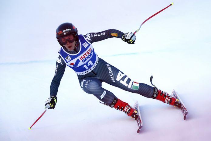 Sofia Goggia davanti a tutte nell'ultima prova di Val d'Isère