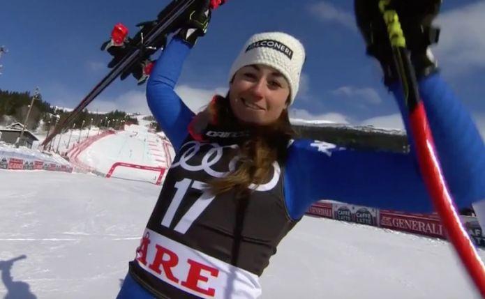 Una favolosa Sofia Goggia trionfa nel superG di Åre! A Tina Weirather la coppa di specialità