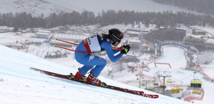 Nella discesa mondiale di St. Moritz sfuma sul più bello il podio per Sofia Goggia. Oro a Ilka Štuhec