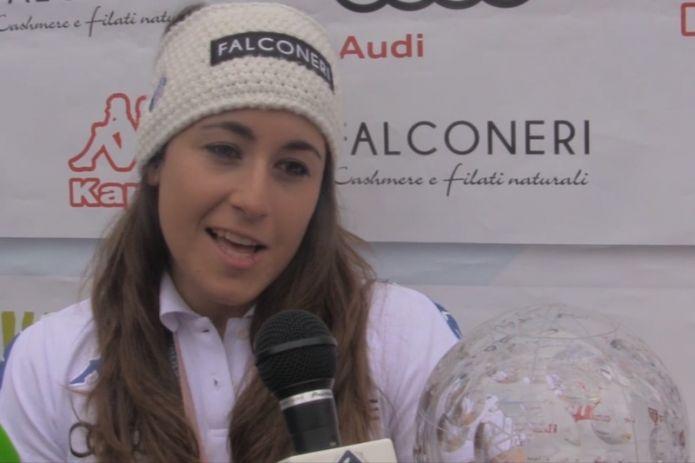 VIDEO - Sofia Goggia: 'L'oro un sogno realizzato, la coppa prova di maturità, ora voglio riprendermi il gigante!'