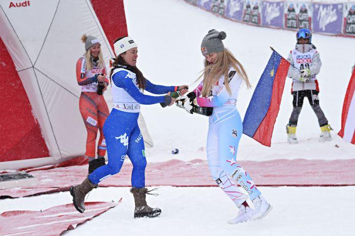Secondo superG femminile di Val d'Isère LIVE! Lista di partenza e azzurre in gara