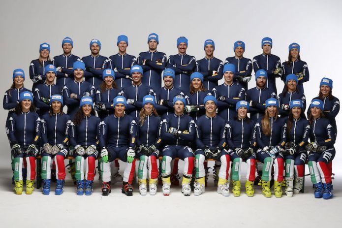 Primi raduni atletici collettivi per l'Italia dello sci alpino