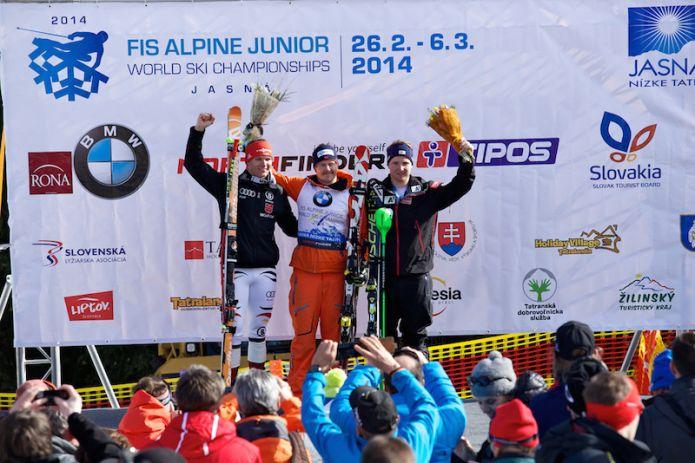 Adrian Smiseth Sejersted oro nella discesa maschile dei Mondiali jr. di Jasná. Alla Svezia il Team Event