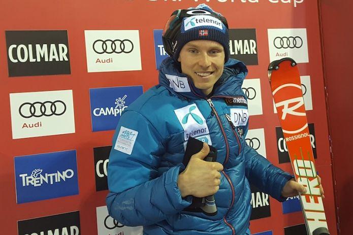 Henrik Kristoffersen batte Marcel Hirscher nello slalom di Madonna di Campioglio, terzo Stefano Gross!