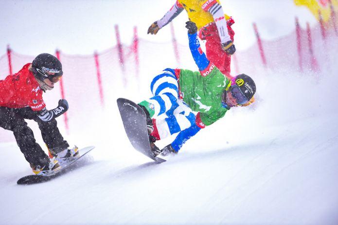 Michela Moioli trionfa nel primo dei due snowboard cross di Coppa del Mondo di Feldberg!