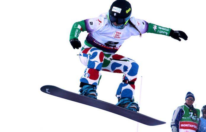 Michela Moioli quarta nel secondo snowboard cross di Coppa del Mondo di Cerro Catedral