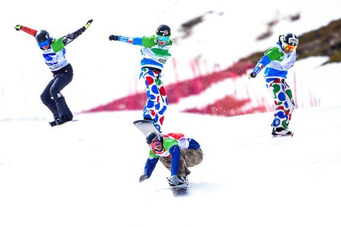Otto azzurri su nove passano le qualificazioni degli snowboard cross di Coppa del Mondo di Cerro Catedral
