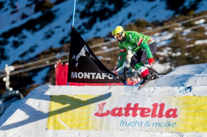 Emanuel Perathoner secondo nello snowboard cross di Coppa del Mondo di Cerro Catedral