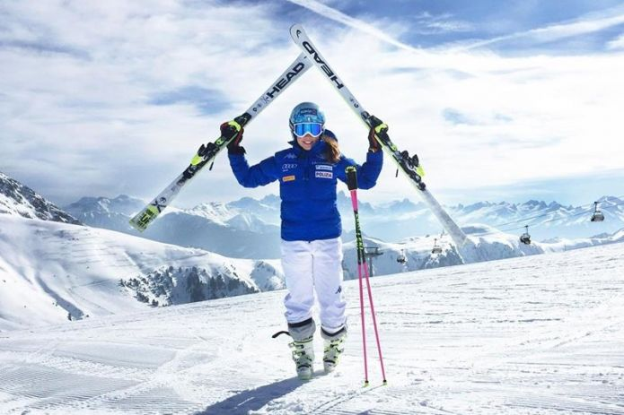 Karoline Pichler è tornata sugli sci