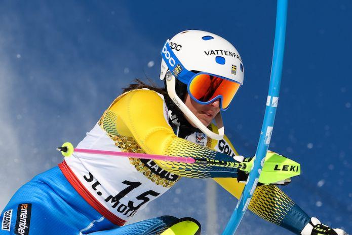Maria Pietilä Holmner salta anche lo slalom di Levi