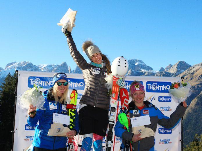 Resi Stiegler vince lo slalom di Coppa Europa di Andalo