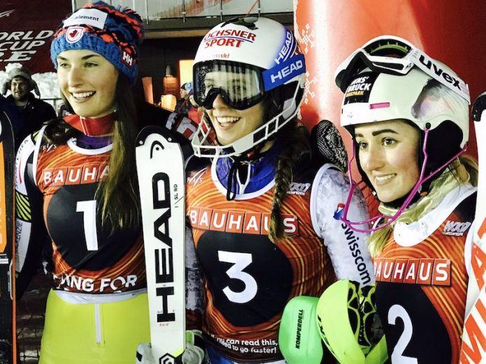 La svizzera Camille Rast oro nello slalom femminile dei Mondiali jr. di Åre