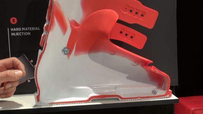 Nuova tecnologia di costruzione dello scarpone Hero della Rossignol