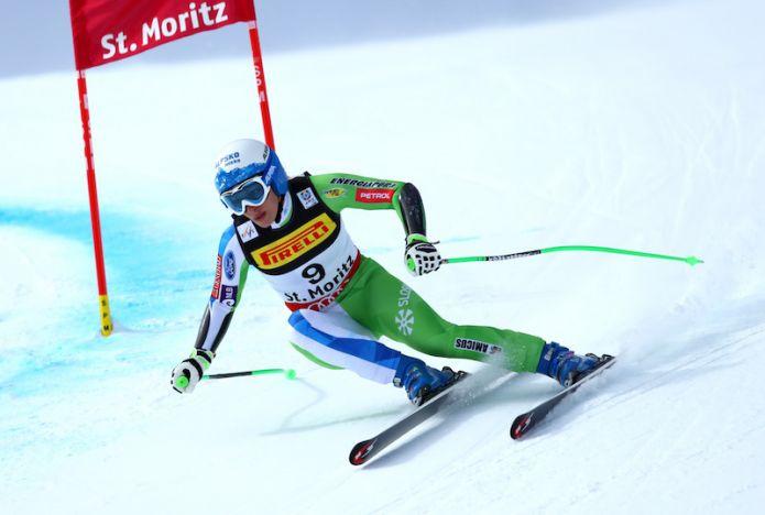 Ilka Štuhec davanti a tutte nella prima prova femminile di St. Moritz