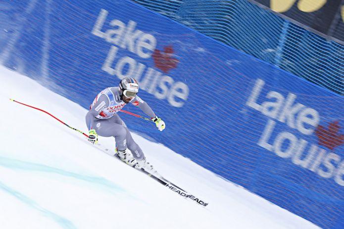 Adrien Théaux il più veloce in prova a Lake Louise. Sesto Peter Fill