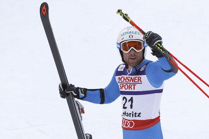 Riccardo Tonetti terzo nello slalom di Coppa Europa di Oberjoch