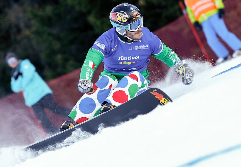 Secondo posto nello slalom parallelo di Coppa del Mondo per Aaron March che vince il trofeo di specialità!