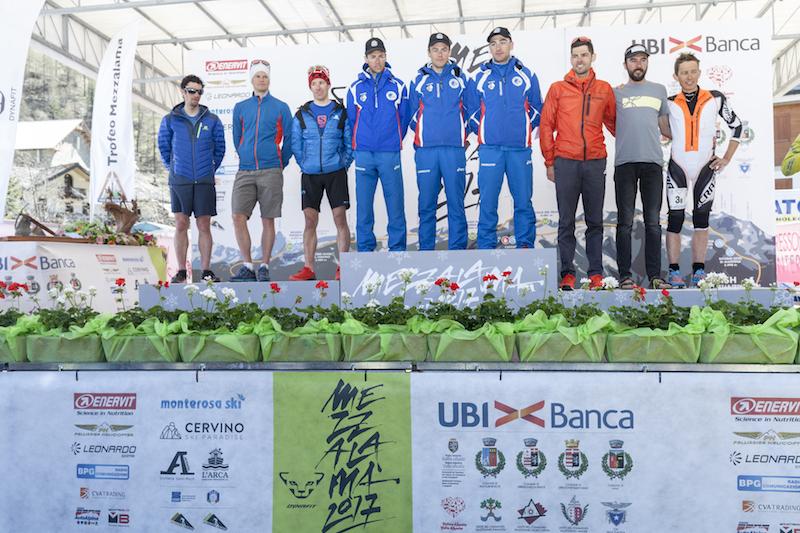 Damiano Lenzi, Michele Boscacci e Matteo Eydallin vincono il 21° Trofeo Mezzalama