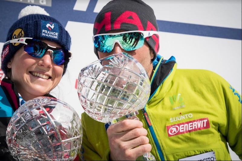 Axelle Mollaret e Michele Boscacci vincono la Coppa del Mondo di sci alpinismo