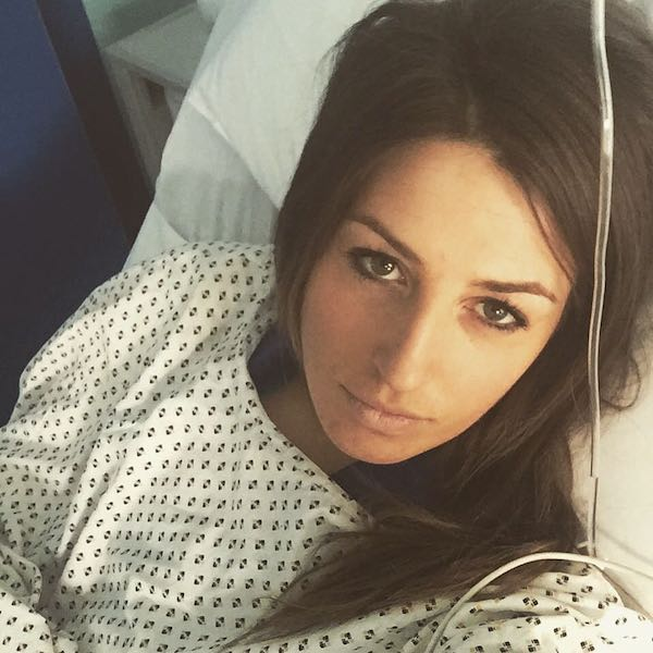 Operazione perfettamente riuscita, Nadia Fanchini sta bene