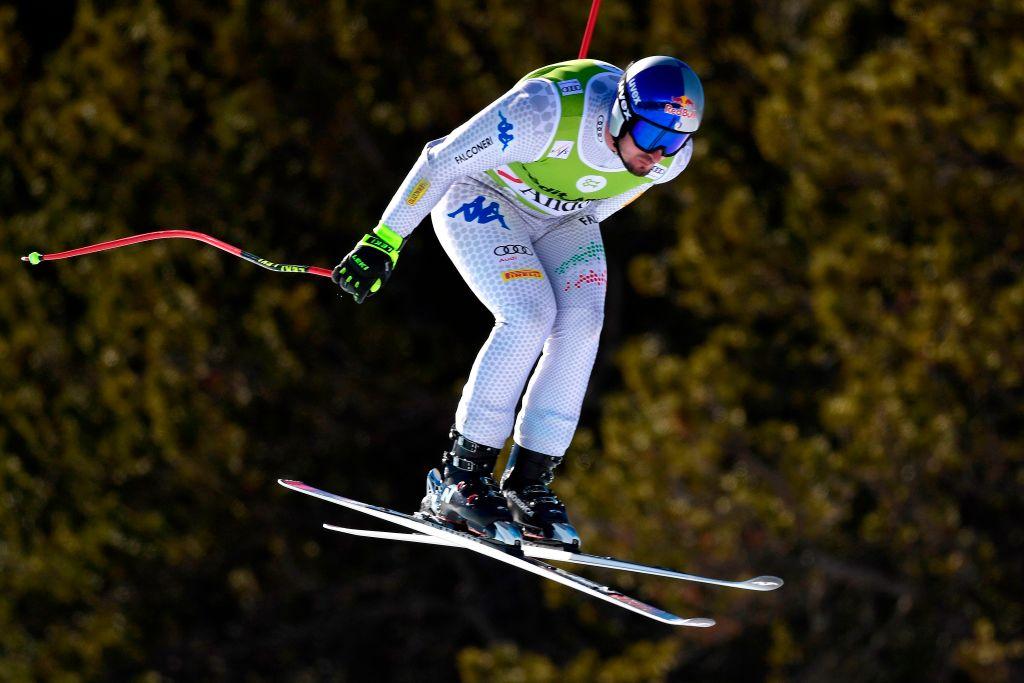 Dominik Paris il più veloce nell'ultima prova di Soldeu