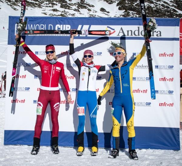 Anton Palzer e Axelle Mollaret vincono le vertical di Coppa del Mondo