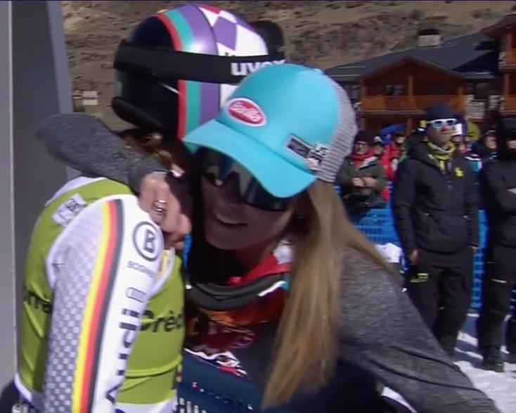 Viktoria Rebensburg vince il superG di Soldeu, terza Federica Brignone. A Mikaela Shiffrin la coppa di specialità