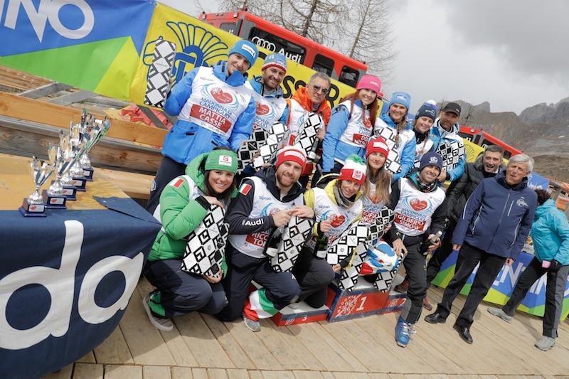 La squadra di Nicol Delago vince la decima edizione di Sciare col Cuore