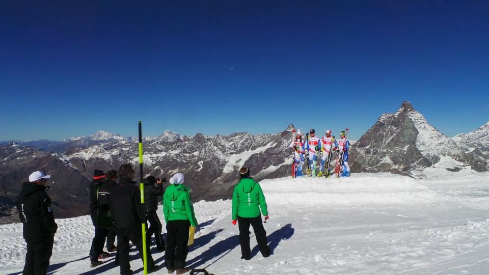Foto tratta dalla pagina Facebook Swiss Alpin Ski Team