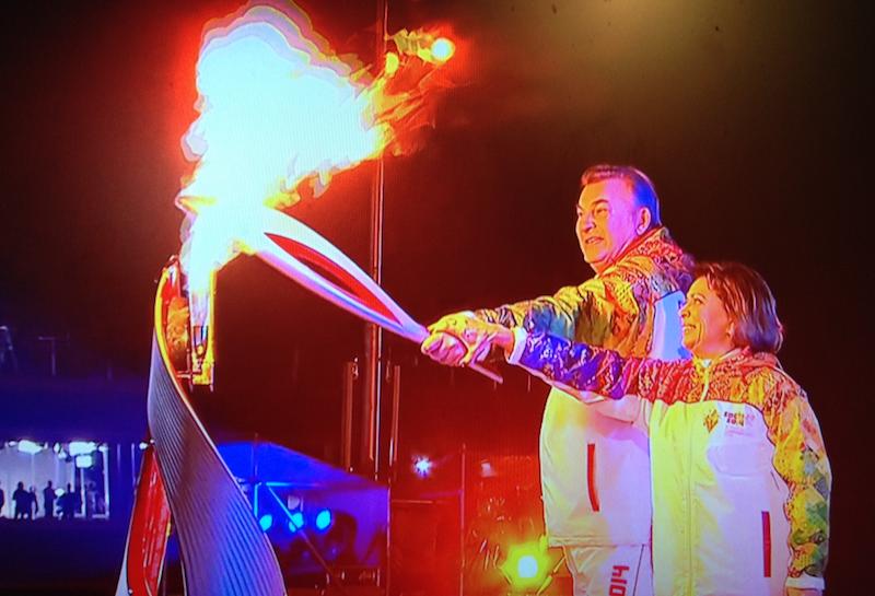 Si sono aperti i Giochi olimpici invernali di Sochi!