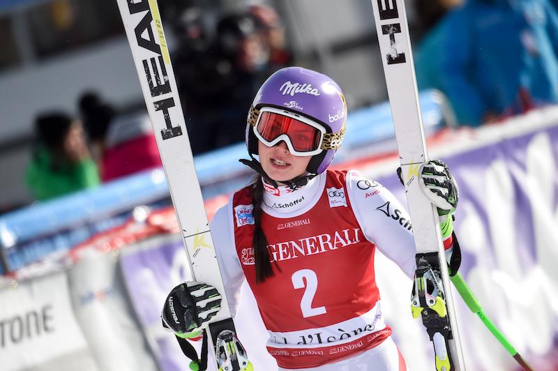 E' tornata anche Anna Fenninger, pardon, Anna Veith: suo il secondo superG di Val d'Isère. Terza Sofia Goggia!
