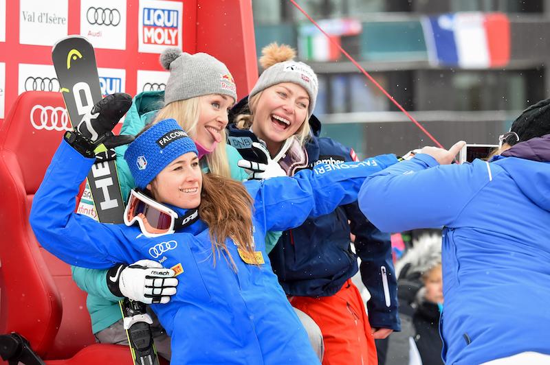 Lindsey Vonn e Sofia Goggia sono tornate: prima e seconda nel superG di Val d'Isère!