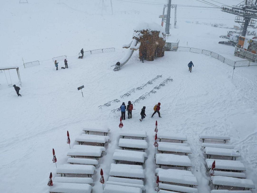 Prima Neve Settembre Stubai