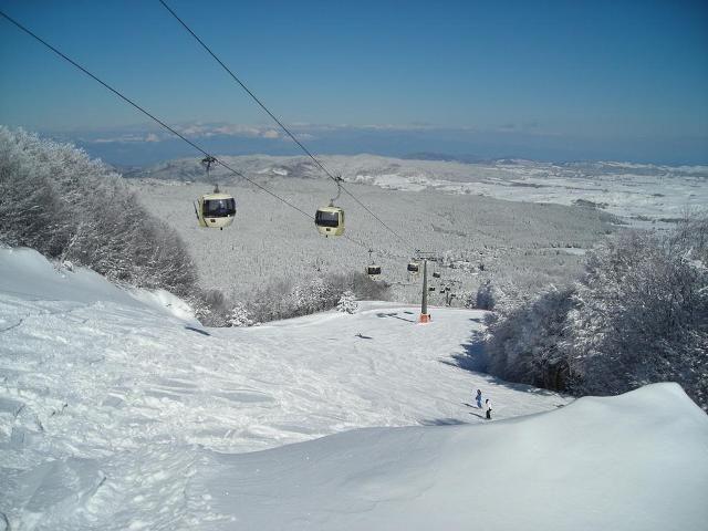 piste di Camigliatello e lago Cecita