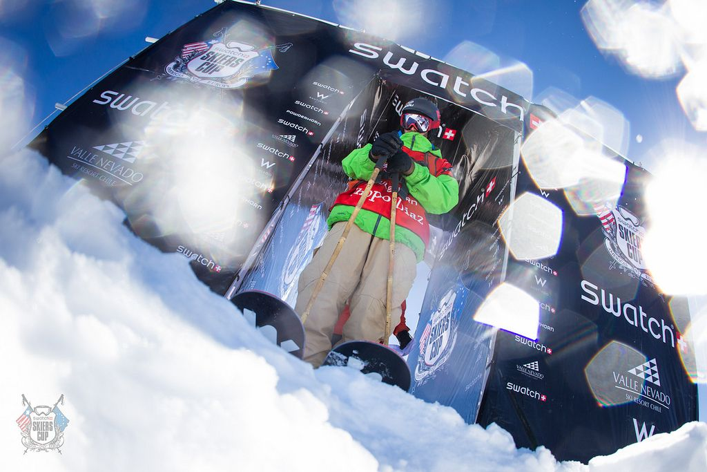 swatch skier cup valle nevado