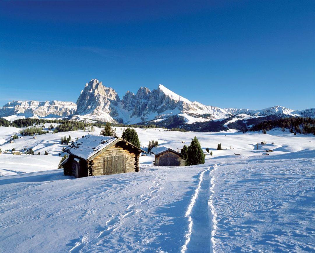 Alpe di Siusi in Inverno