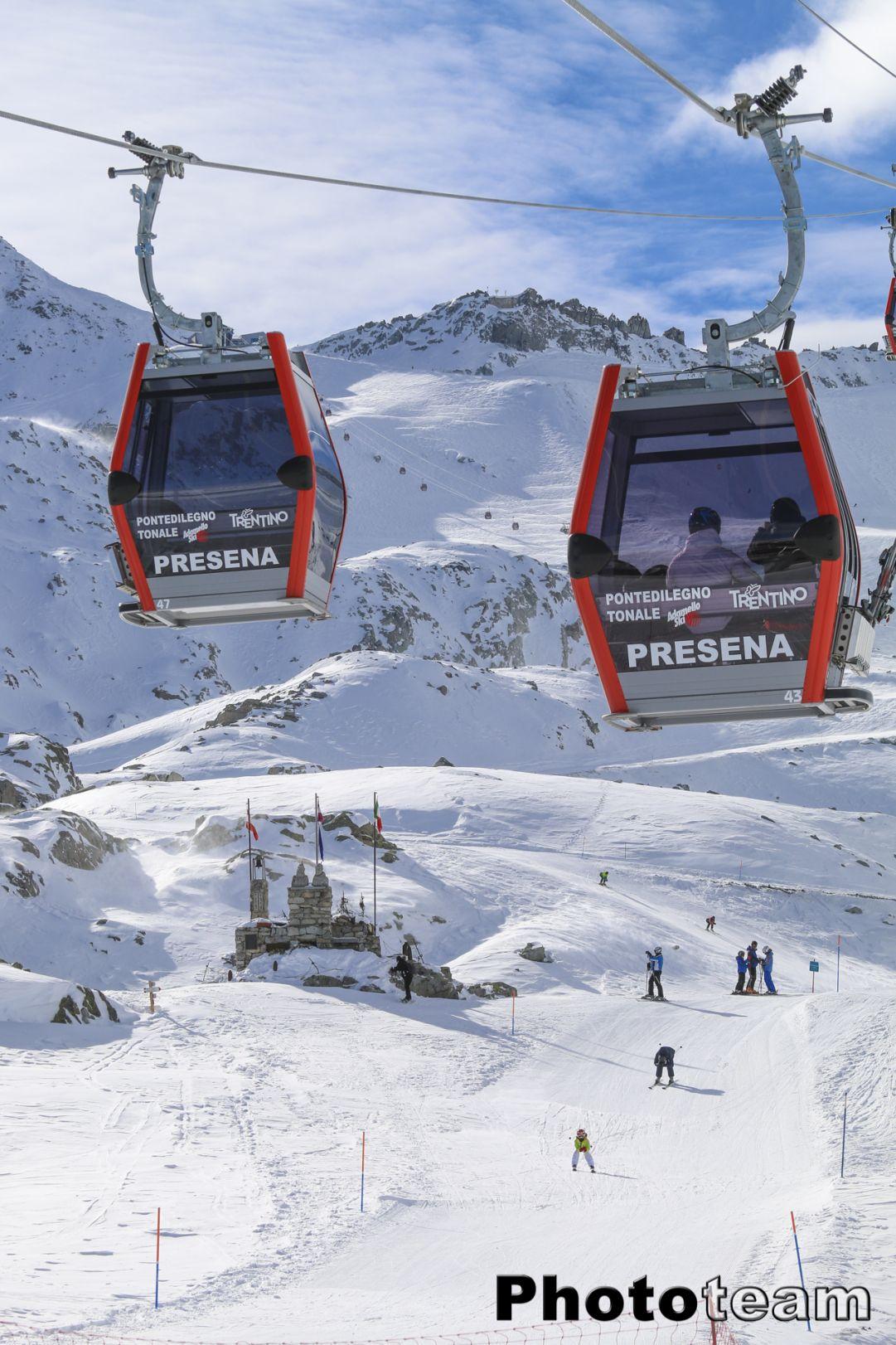Adamello Ski. Innevamento da pieno inverno ma il Presena chiude il 1 Maggio