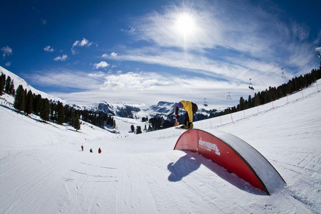 snowpark obereggen   winter 11 12